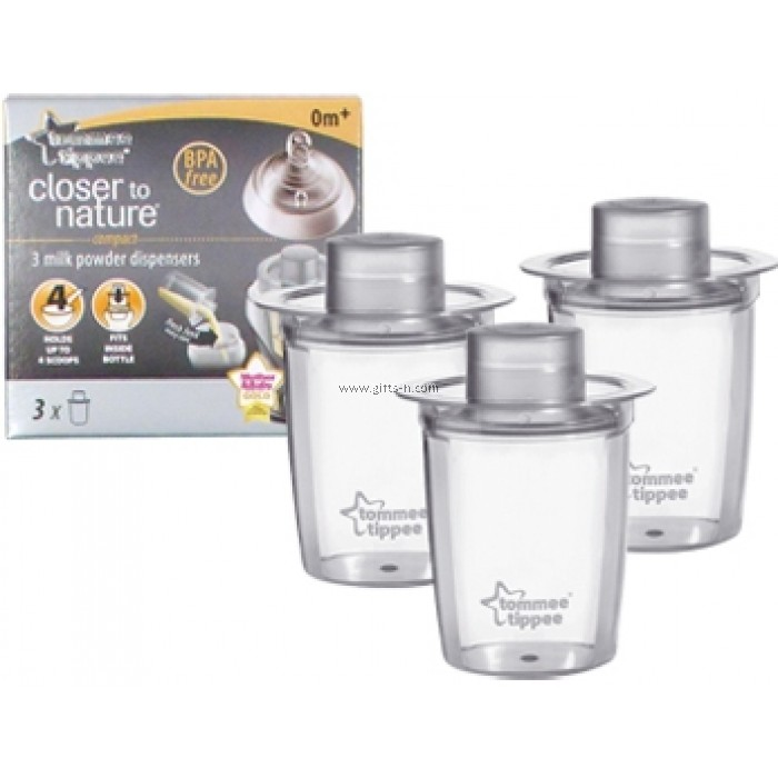 tommee tippee milk powder dispensers instructions