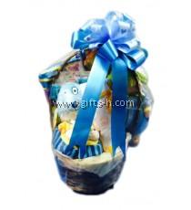Newborn/Fullmoon/Baby Shower Gift Basket - Boy / Girl H1076